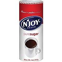 Botes de azúcar N'Joy, 6 paquetes de 20 oz