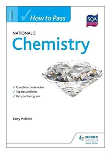 how to pass national chemistry htp amazon co uk barry  how to pass national 5 chemistry htp5 amazon co uk barry mcbride 9781444181982 books