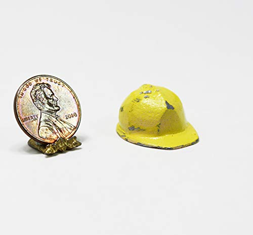 Dollhouse Miniature Yellow Hardhat by Island Crafts & -