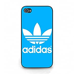 Bright Simple Adidas Logo Cover Phone Case Flexible Protective Cover Case for Iphone 4/4s Adidas Series