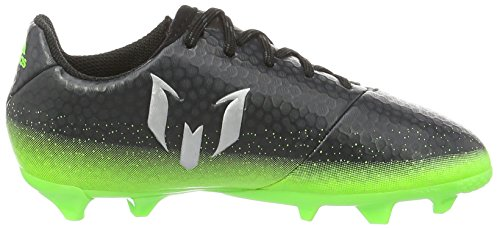 adidas Messi 16.3 Fg J, Botas de Fútbol para Niños Gris (Griosc / Plamet / Versol)