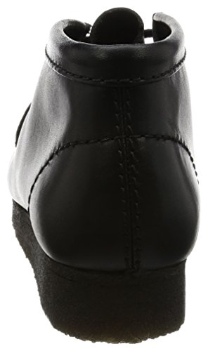 Clarks Boots Wallabee Boot nero