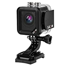 SJCAM M10 Plus Sports Camera WiFi 1.5 Inch 2K 1080P 12MP 170 Degree Wide Angle Lens action Camera HD Camcorder Car DVR for Biking, Skiing, Diving