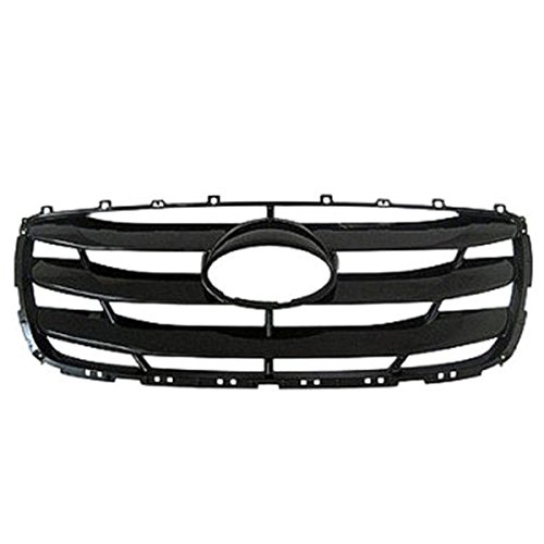 Santa Fe Bar Grill - Koolzap For Front Grill Grille Assembly Black Shell HY1200155 865612B700 10-12 Santa Fe