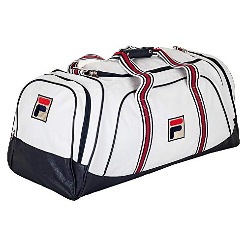 Fila Newton Tennis Duffle Bag White (- TennisExpress)