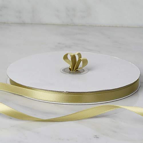 Mikash 3/8 x 100 Yards Single Side Satin Ribbon Wedding Favors Crafts Decorations | Model WDDNGDCRTN - 14809 |