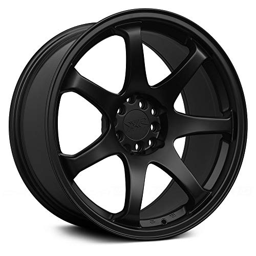 XXR 551 16 Black Wheel / Rim 4x100 & 4x4.5 with a 21mm Offset and a 73.1 Hub Bore. Partnumber 551680822