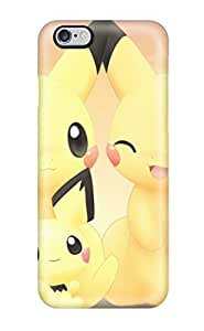 DanMarin Case Cover Protector Specially Made For Iphone 6 Plus Pikachu Video Game