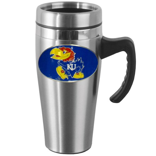Kansas Jayhawks Travel Mug - 2
