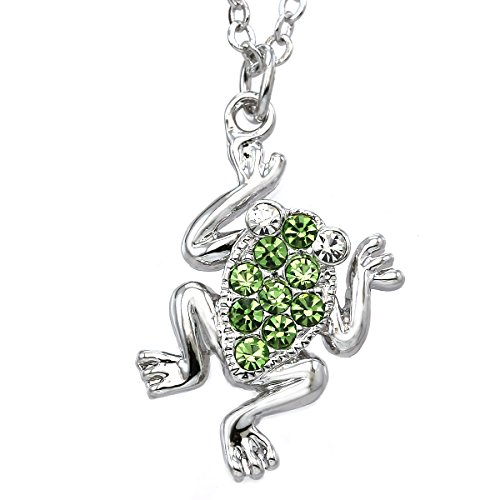 (Soulbreezecollection Green Tree Frog Anklet Animal Lover Toad Ankle Bracelet Charm for Women)