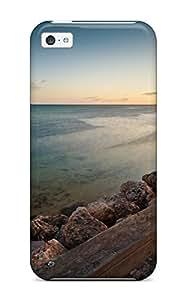 Perfect Fit TpKFWVC6237ytNdw Clam Beach Case For Iphone - 5c