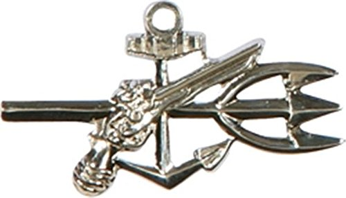 U.S. Navy Underwater Demolition Team Mini Pin - SILVER