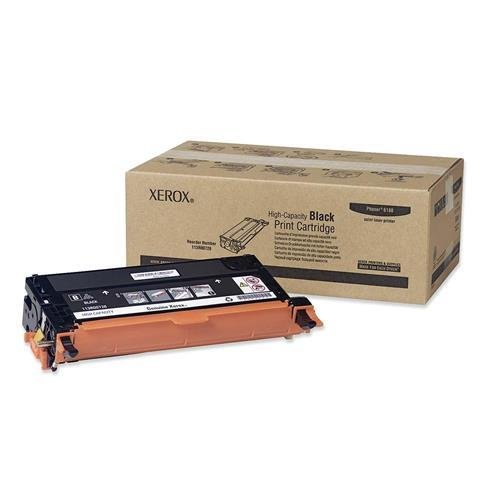 Xerox 113R00726 OEM Toner - Phaser(R) 6180 High Capacity Black Toner (8000 Yield) OEM by Xerox