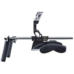 Redrock Micro ultraCage Black Professional Series Field Cinema Shoulder Rig for Canon Cinema EOS C100/C300 MKII Camera