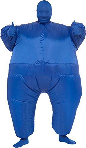 Rubie's Costume Inflatable Full Body Suit Costume, Blue, One (On The Run Halloween Costume)