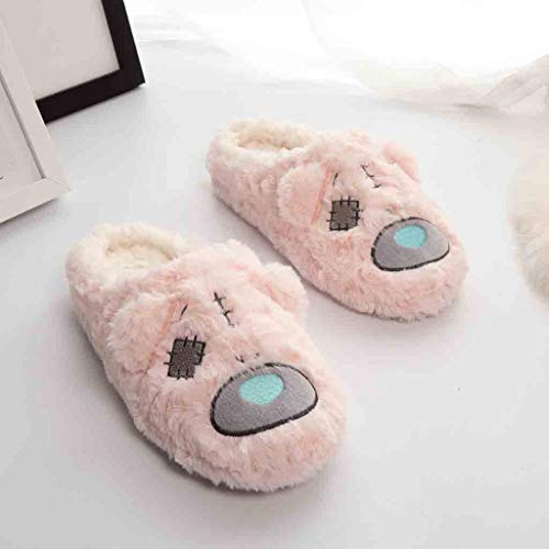 Pantofole Pavimento Inverno Autunno Rosa Antiscivolo Caldo Indoor Morbido Semplice Home Modaworld donne Donna Casa Scarpe E Cotone Peluche 5wgOAX