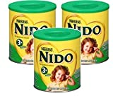 Nestle NIDO 3+ Powdered Milk Beverage 1.76 lb Canister (Pack of 3)