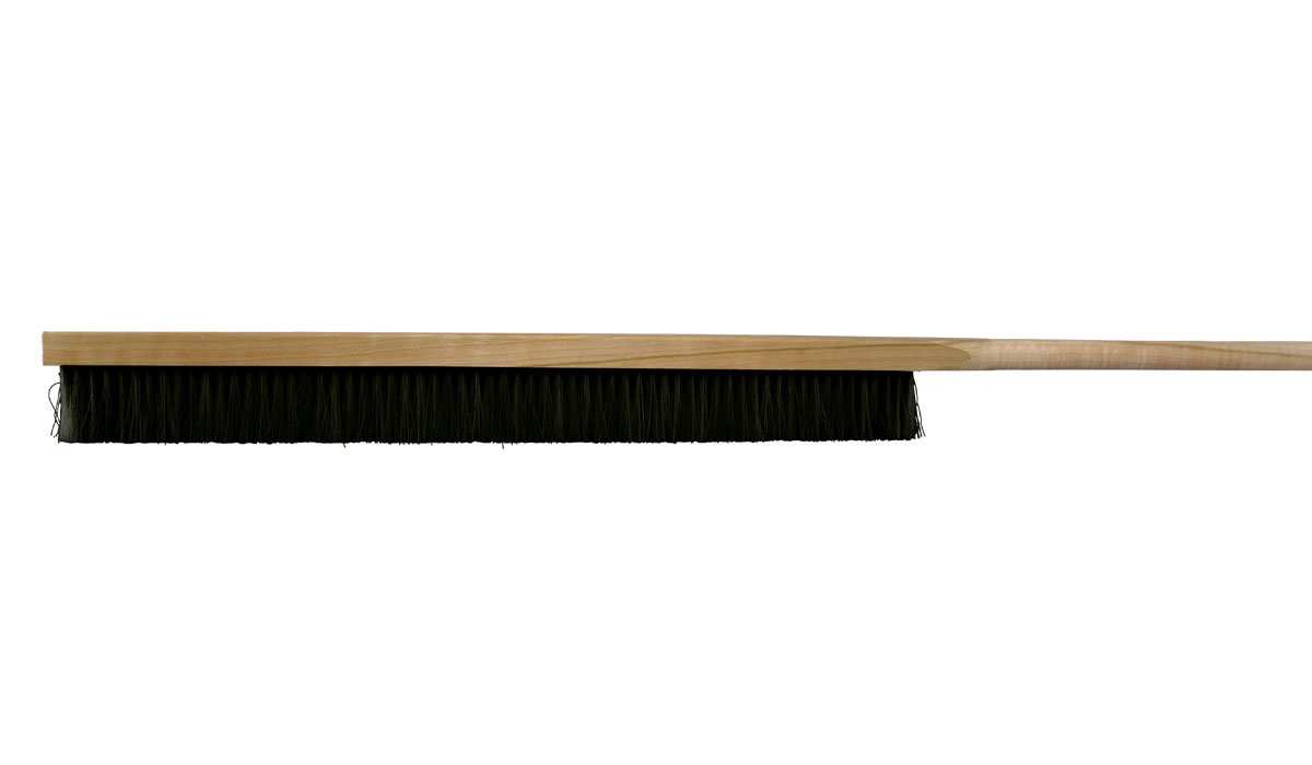 "Chef Felton - CHEF806 - (Pack of 2) Pizza Oven Brush - 51"" Long-Handled Horse Hair Brush for use with Semolina Flour - Made in Canada"