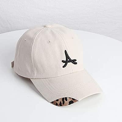 zhuzhuwen Sombrero Mujer Leopardo Doble Suave Tapa de béisbol ...
