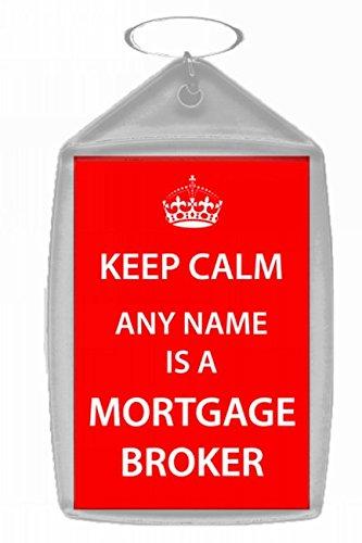 Hipoteca corredor personalizado Keep Calm Llavero: Amazon.es ...