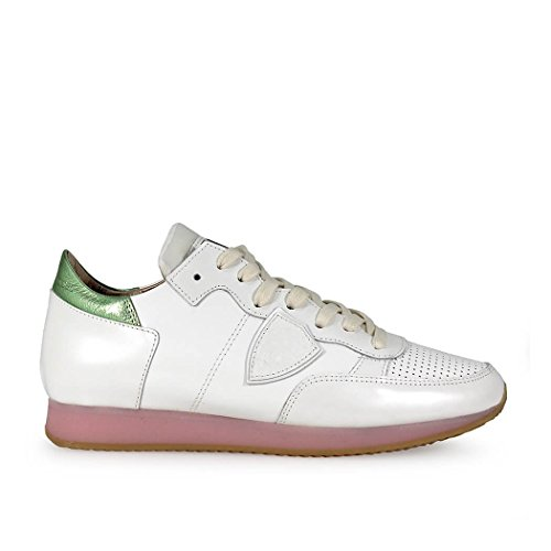 SNEAKER TROPEZ WORLD BIANCO PHILIPPE MODEL