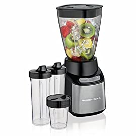 Hamilton Beach Stay or Go Blender 40 Dimensions: 5.5 W x 6.25 D x 13.5 H in. Peak wattage of 650 Features pulse action for precision