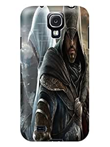 3D cute cartoon tpu skin back cover case with texture for Samsung Galaxy s4 of Assassin's Creed in Fashion E-Mall by runtopwell