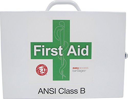 Genuine First Aid ANSI Class B Two Shelf First Aid Station