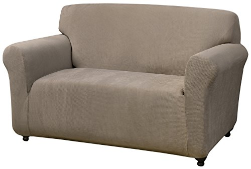Madison Love-LI Kathy Ireland Day Break Loveseat Slipcover, Linen