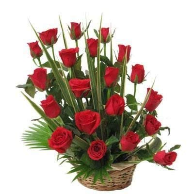 Floral Fantasy Fresh Flowers Bouquet Of Red Rose Arrangement For Birthday Anniversary Friendship Day Best Wishes Amazonin Garden Outdoors