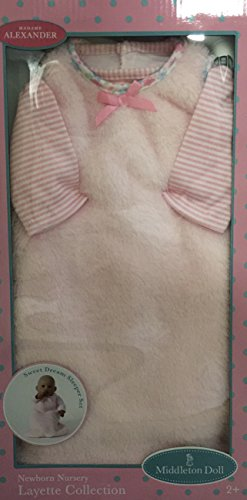 Madame Alexander Lee Middleton 19 inch Doll Outfit Sweet Dream Sleeper (Lee Doll Newborn Middleton Clothing)