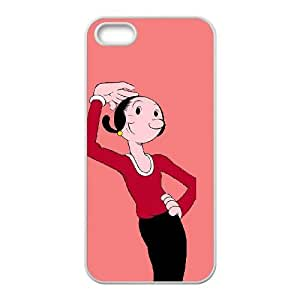 iPhone 4 4s Cell Phone Case White Popeye the sailor Xgmx