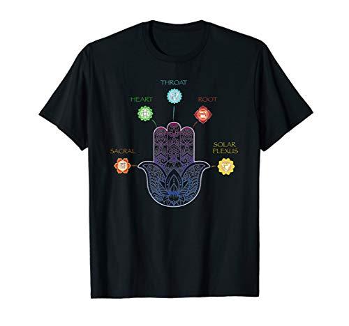 Hamsa Chakra T-Shirt Buddhism Hinduism Zen Religious Tee