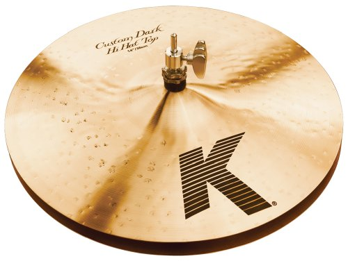 "Zildjian K Custom 14"" Dark Hi Hat Cymbals Pair"