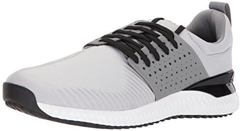 new concept 58f89 85607 adidas Men s Adicross Bounce Golf Shoe, Light Solid Grey Black, 7.5 M US