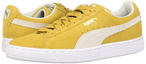 Hommes Daim Chaussures Eu Puma Honey puma 41 Classiques En White Mustard PZpxRUnI