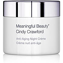 Meaningful Beauty by Cindy Crawford – Anti-Aging Night Crème – Revitalizing Moisturizer – With Peptides, Jojoba and Sweet Almond Oil – 1.7 Ounces – MT.2066