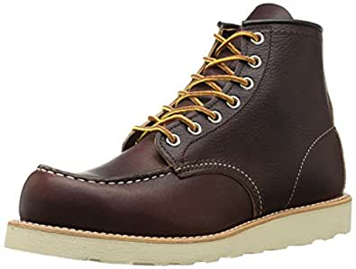 "Red Wing Heritage Moc 6"" Boot, Briar Oil Slick,7 D(M) US"