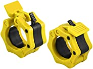 SPR-WL Barbell Clamps,Pair of Barbell Clamps Collars 2 inch,Quick Release Locking Professional Olympic Weight
