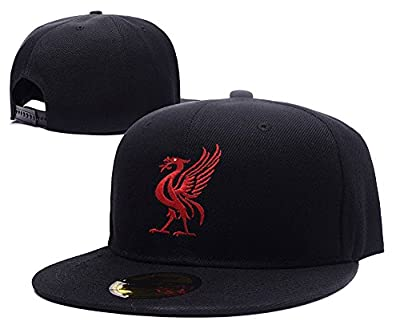 KIMUS Liverpool Football Club FC Bird Logo Adjustable Snapback Embroidery Hats Caps