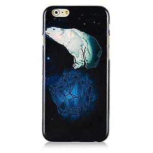 WQQ Cubierta Posterior - Gráfico/Dibujos Animados/Diseño Especial/Innovador - para iPhone 6 ( Multicolor , Plástico )