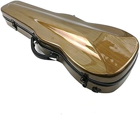 Estuche para violín de Aliyes, tamaño de violín 4/4 completo, de fibra de carbono, con higrómetro, duradero y ligero, XXH-7007: Amazon.es: Instrumentos musicales