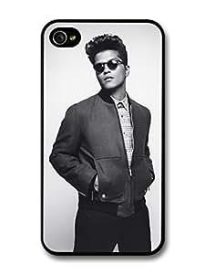 Bruno Mars Sunglasses Black & White Portrait case for iPhone 4 4S