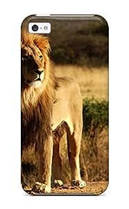 Brooke C. Hayes's Shop Hot 9103296K11509155 Premium Durable King Lion Fashion Tpu Iphone 5c Protective Case Cover WANGJING JINDA