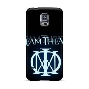 Anti-Scratch Hard Phone Cases For Samsung Galaxy S5 (WMQ3951divj) Support Personal Customs High-definition Dream Theater Logo Skin