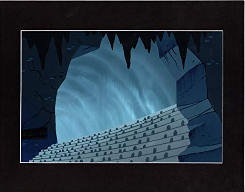 Samurai Jack Hand Painted Screen-Used Animation Background Art from Cartoon Network 2001 317