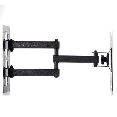 Lumsing full motion articulating tilt swivel tv wall mount for Tv wall mount tilt down