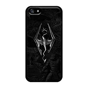 Excellent Cell-phone Hard Cover For Iphone 5/5s With Unique Design Nice Skyrim Pictures No1cases