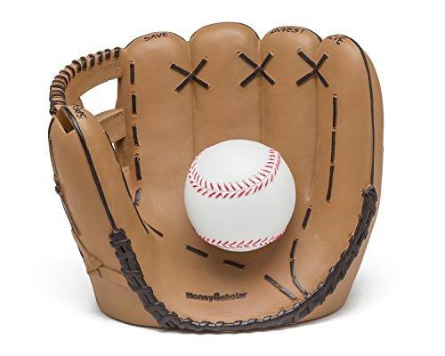 Money Scholar Baseball Coin Bank product image