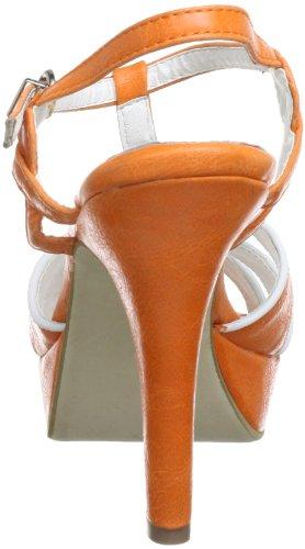 Andrea Conti 0365306 - Sandalias para mujer Naranja (Orange (orange 025))